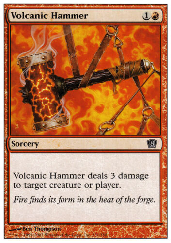 8th Edition Volcanic Hammer X4 NM *CCGHouse* Magic MTG