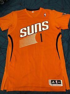 quite nice e6c50 0c72f Details about Adidas Pro-Cut Devin Booker Phoenix Suns Authentic Sleeved  Jersey