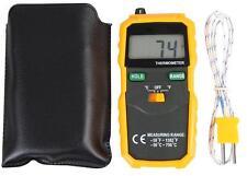Duratool Digital Thermometer K Type Thermocouple -50°c To +750°c Range