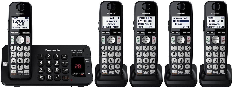 panasonic cordless telephone with digital answering machine 5hs kx rh ebay com GE User Manuals Wireless Gateway with Phone Jack