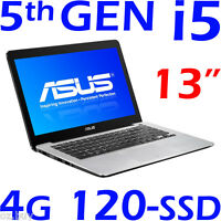 Asus Ultrabook Core I5-5200u 13 4gb 120gb Ssd Windows 10 F/x302la