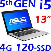 Asus Ultrabook Core I5-5200u 13 4gb 120gb Ssd Windows 10 F/x302la