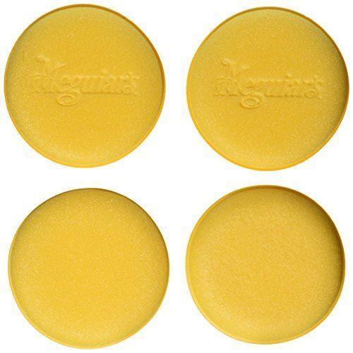 """Meguiar/'s W0004 4-1//2/"""" Foam Applicator Pads Pack of 4"""