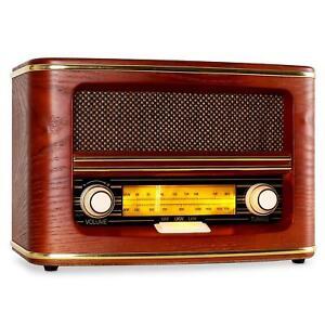 SCHICKES-AUNA-BELLE-EPOQUE-UKW-MW-NOSTALGIE-RADIO-50er-RETRO-LOOK-50-s-DESIGN