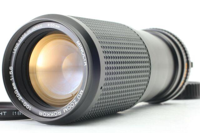 【EXC+++++】Minolta MD Zoom Rokkor 100-200mm f/5.6, Filter from JAPAN #V15【Free S】