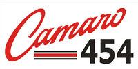 C097 Camaro 454 Large Banner Garage Shop Muscle Car Hot Rod Classic Cars