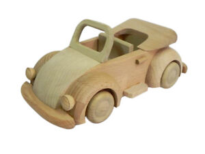 Image Is Loading New Car Wooden Toy Vehicle Moving Parts Agricultural