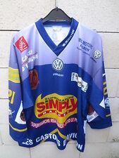 Maillot hockey LES CASTORS D'AVIGNON porté n°21 shirt jersey L