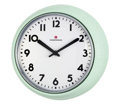 Zassenhaus Rétro Horloge//Horloge de cuisine Comme neuf 24 cm Ø NOUVEAU /& NEUF dans sa boîte