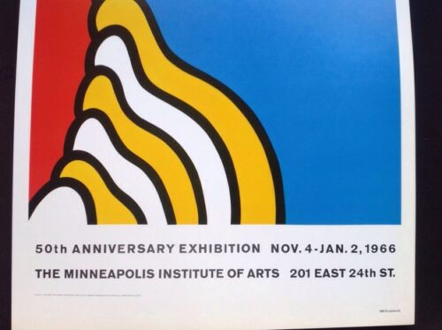 Pop Art Minneapolis Institute Of Arts 1966 Poster Nicholas Krushenick
