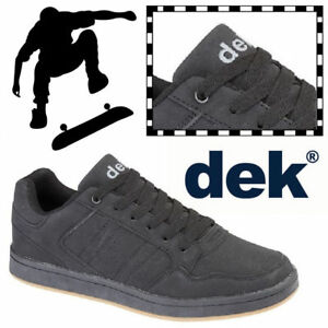 Synth De Nubuck De Quark Chaussures Garçons Nouveau De Chaussures Noir Dek Cuir Skateboarding nPvw4nzTq