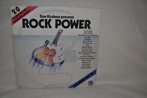 Ronco-Don-Kirschner-Presents-Rock-Power-Vinyl-Record-P-12417-1974-Various-Hits