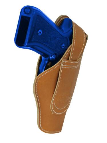 New Barsony Tan Leather 360Carry 12 Option OWB IWB Holster Full Size 9 40 45