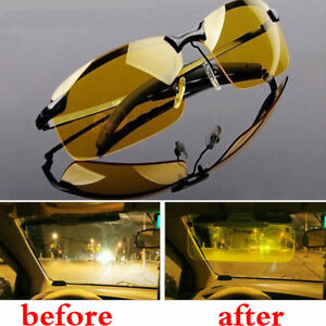 12cbda8e356 Image is loading Night-Driving-Glasses-HD-Anti-Glare-Vision-Polarized-