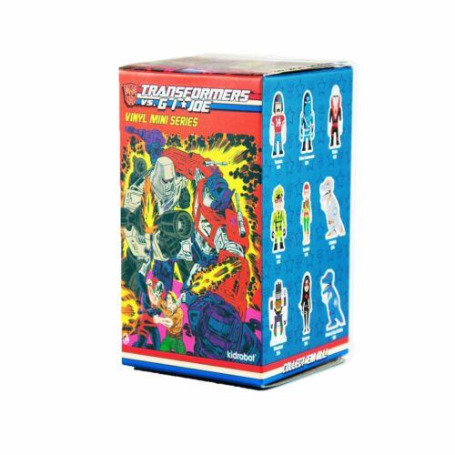 Kidrobot Transformers vs GI Joe Vinyl Mini Series Figure Destro 1//24 Hasbro New