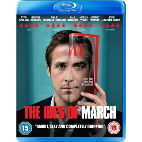 1 of 1 - THE IDES OF MARCH****BLU RAY****REGION B****NEW & SEALED