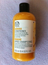 THE BODY SHOP BANANA HAIR CONDITIONER 250ML FOR SOFT TANGLE-FREE HAIR