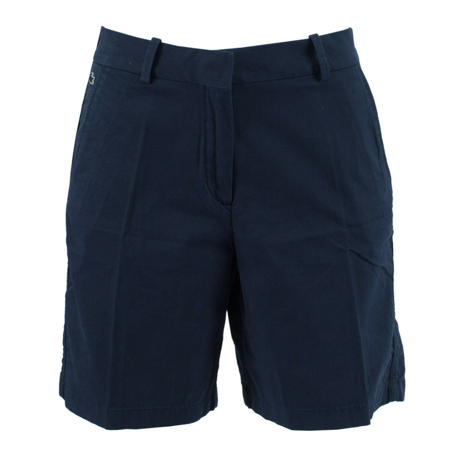 LACOSTE Damen Chino Shorts FF2966-00-166 Marine / 32 (F 34) / kurze Hose, Sommer