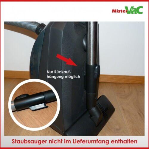Bodendüse umschaltbar geeignet Miele S526 S 526 Cat /& Dog Plus Karminrot