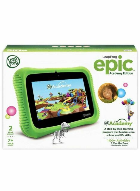 Fine Leapfrog 602260 Epic 7 Academy Learning Tablet 16Gb Android 4 4 With Bumper Download Free Architecture Designs Rallybritishbridgeorg