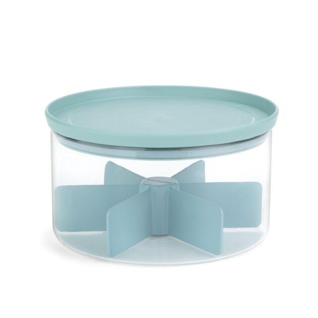 """Barattolo """"Tea Box"""" capacità 2 litri 6 compartimenti 110665 marca BRABANTIA"""