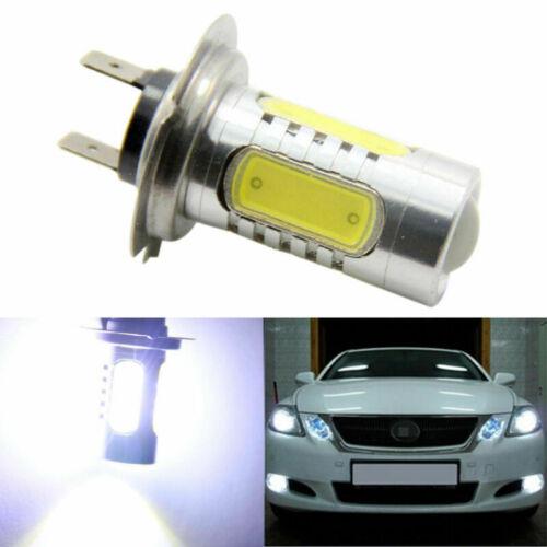 1X White H7 High Power 7.5W COB LED Bulbs Fog//Driving DRL Head Light Projection