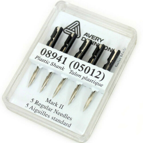 standard AVERY Dennison regolari tagging GUN needles gratis P/&P Mark II