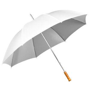 Weiß Volumen Groß Treu Impliva Xxl 130 Cm Damen Schirm Stockschirm Regenschirm Umbrella Schirme Kleidung & Accessoires