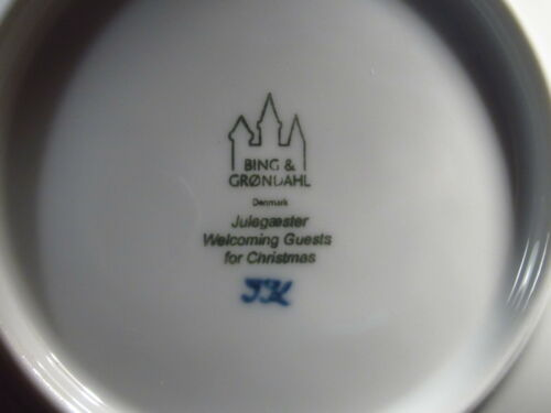 Bing /& Groundahl  2006 WELCOMING GUESTS FOR CHRISTMAS  Annual  Plate  MIB