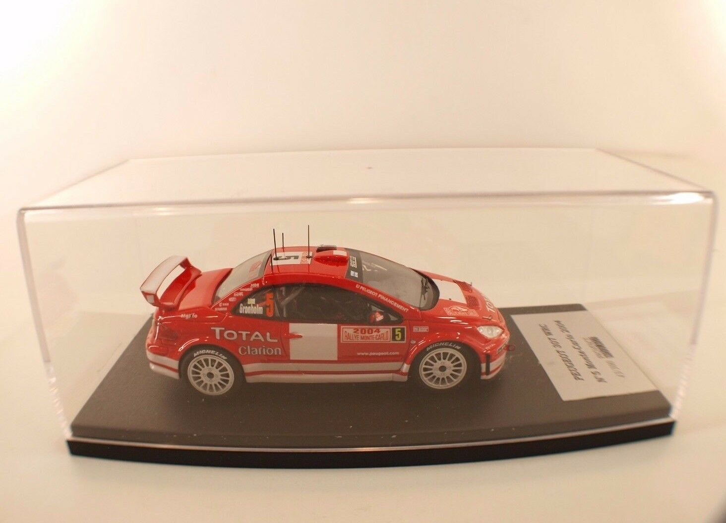 Provence Moulding Peugeot 307 WRC  5 Monte-Carlo 2004 Kit Assembled Resin 1 43