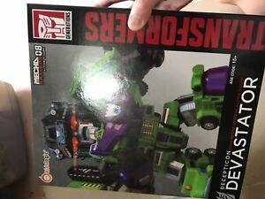 LED NOT WORK Kids Logic MN08 Mecha Nation Transformers Decepticon Devastator