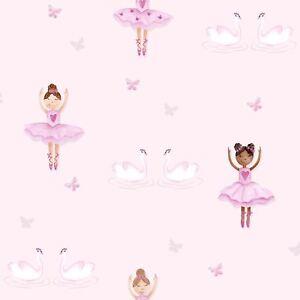 Ballerina-Papier-Peint-Rose-holden-decor-12460-Neuf