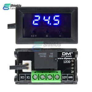 Digital-W1209-50-110-C-Temperature-Controller-Sensor-Switch-Thermostat-w-Case