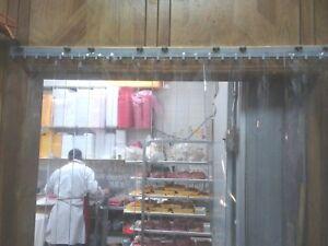 Cooler Freezer Door Strip Curtain Perforated Strips 26 Door With