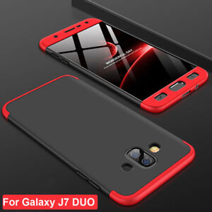 reputable site 68c34 8663f Details about 360 Shockproof Full Cover Thin Armor Case for Samsung Galaxy  J7 DUO Acrylic Skin