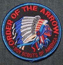 Order of the Arrow OA Pocket Patch Style 1 Black Twill Background MINT! NOAC WWW