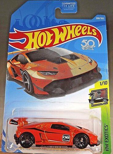 2018 Hot Wheels #268 HW Exotics 1//10 LAMBORGHINI HURACAN LP 620-2 SUPER TROFEO