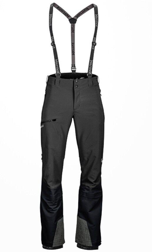 Marmot Pro Tour Pantalones hombre, Técnicos Pantalones Softshell para hombre