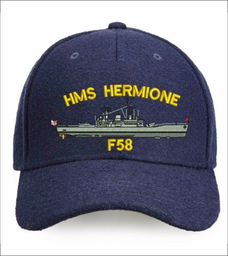 Ship/'s profile Batch 3 Seawolf Leander Embroidered Baseball Caps /& Beanies