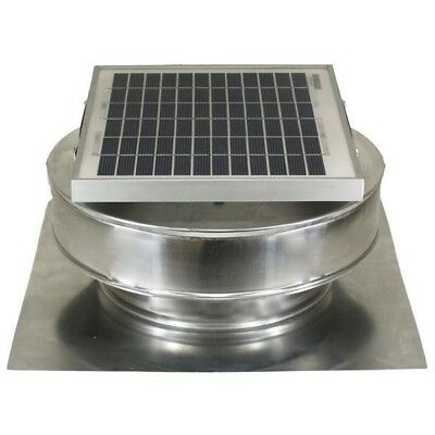 Solar Powered Roof Ventilation Mounted Exhaust Attic Fan ...