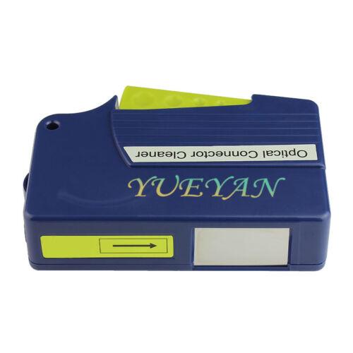 Fibre optique Cassette nettoyeur pour LC//MU//SC//FC//ST//MPO//MT connecteur 500 nettoie