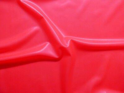 Latex Rubber 0.33mm Thick, 92cm Wide,Vibrant Magenta