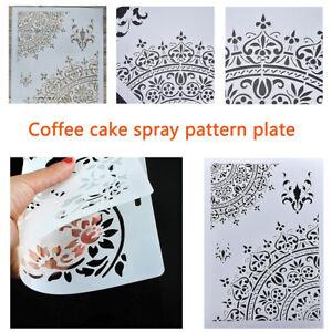 A-faire-soi-meme-Craft-Layering-Pochoirs-Modele-Pour-Murs-Peinture-Scrapbooking-stamping-U7