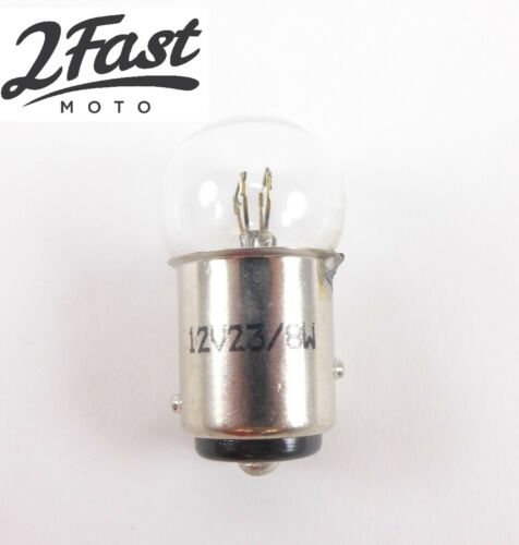 12 Volt 23/8 Watt 12 V 23/8 W Replacement Bulb for BULLET STYLE LIGHTS 2FastMoto