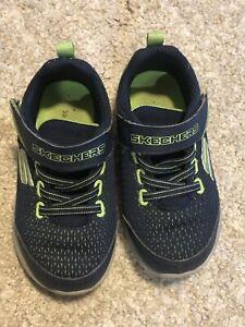 Sketchers kids sneakers size 9 boys   eBay
