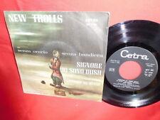 NEW TROLLS Signore io sono Irish 7' + PS 1969 ITALY MINT Rare It Prog De Andrè