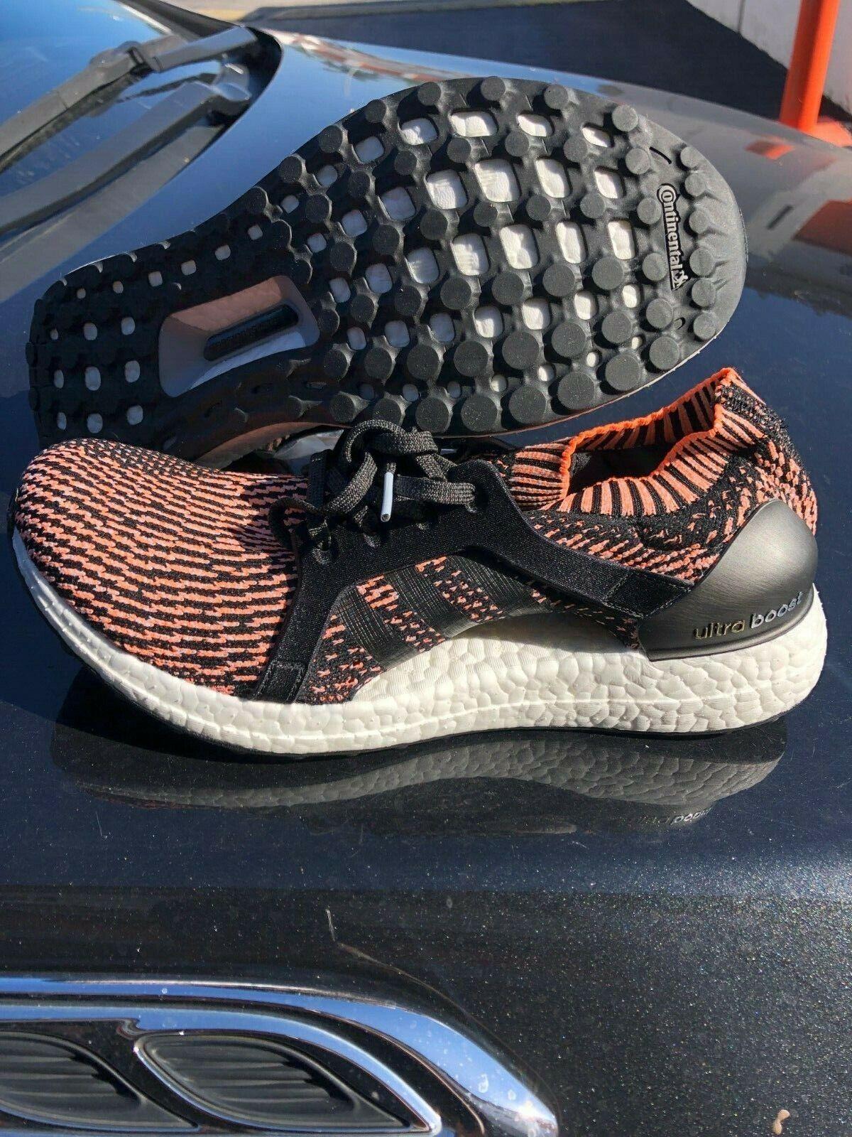 Nuovi  Adidas Ultra Boost X BA8278 Glow arancia Running scarpe Dimensione 9.5  caldo