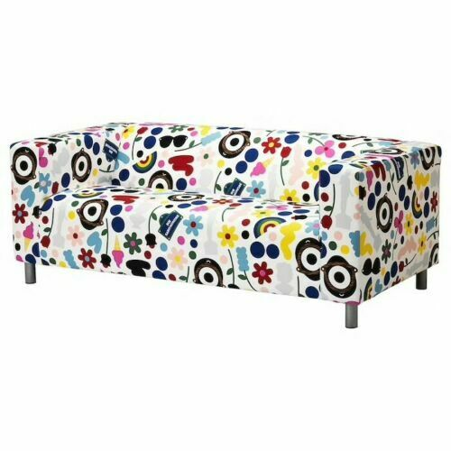 Cool Ikea Klippan Slipcover Fornyad Multicolored Loveseat Cover Removable 804 261 41 Gmtry Best Dining Table And Chair Ideas Images Gmtryco