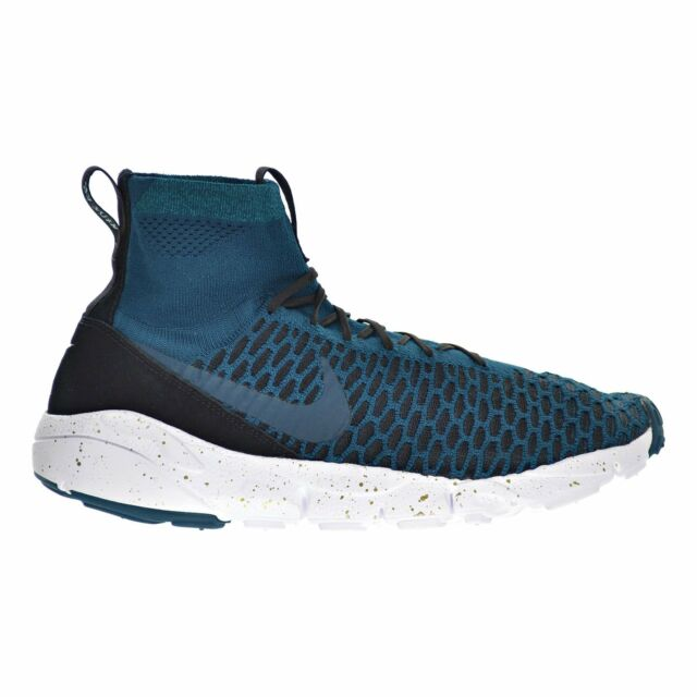 super popular c6ddd e235c Nike Men s Footscape Magista Flyknit Shoes Midnight Turquoise Black Size  11.5M