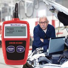 MaxiScan MS309 OBD2 OBDII EOBD Fault Code Reader Car Diagnostic Scanner Tool